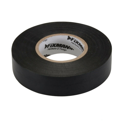 Fixman 192069 Electrical Insulation Tape 19mm x 33m Black